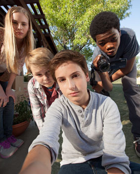 ELLA LINNEA WAHLSTEDT, REESE HARTWIG, TEO HALM and ASTRO