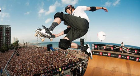 Tony Hawk Skateboarding