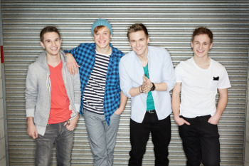 4Count is made up of Adam, Kieran, Aaron and Ben