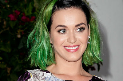 Katy Perry goes green