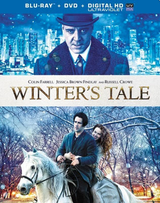 Winter's Tale Blu-ray and DVD cover art