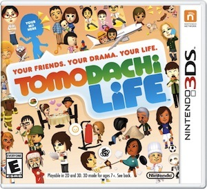 Tomodachi Life is available now, for Nintendo 3DS!