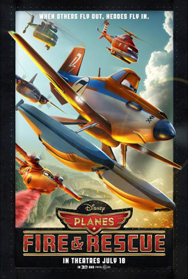 Planes: Fire and Rescue Poster
