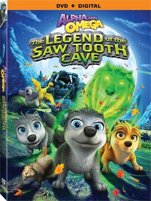 Alpha and Omega: The Legend of the Saw Tooth Cave DVD