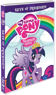 My Little Pony – Friendship is Magic: The Keys of Friendship DVD