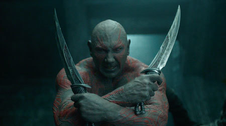 Don't mess with Drax!