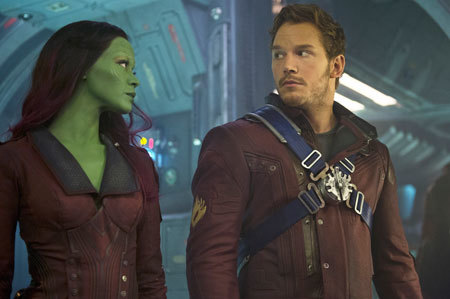 Quill to Gamora Are we ready for this?