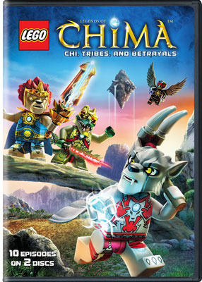 LEGO: Legends of Chima – Chi, Tribes, and Betrayals DVD