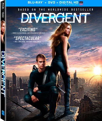 Divergent Blu-ray and DVD