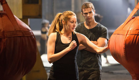 Tris learns to be tough