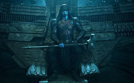 Evil Ronan on his throne