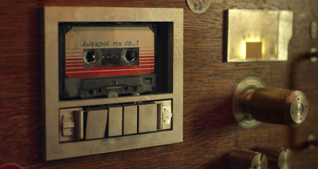 Quill's beloved mix tape