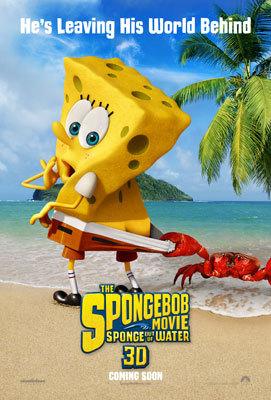 SpongeBob SquarePants: Sponge Out of Water Poster