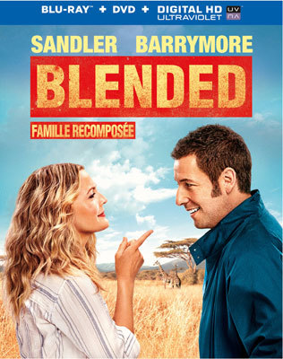 Blended Blu-ray Cover