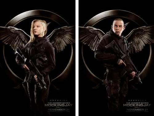 Cressida and Messalla Rebel Warrior Posters