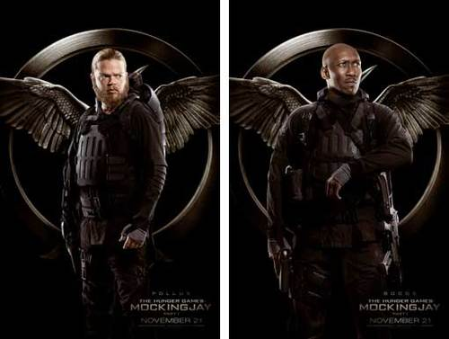 Pollux and Boggs Rebel Warrior Posters