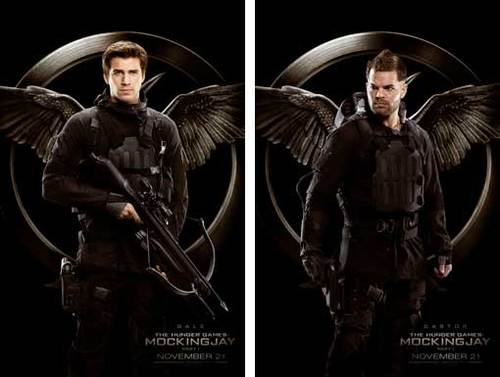 Gale and Castor Rebel Warrior Posters