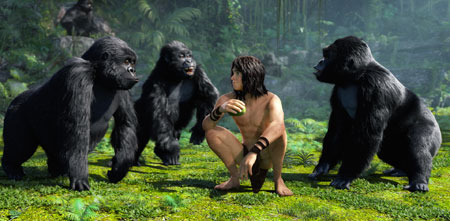 Kellan Lutz as Tarzan