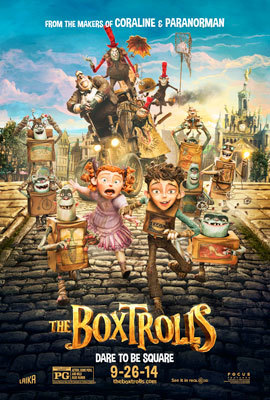 The Boxtrolls Official Poster