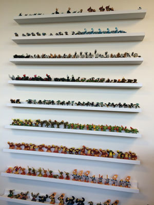 So many Skylanders and we couldn't take ANY!