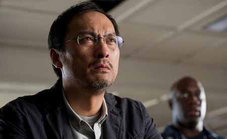 Dr. Serizawa (Ken Watanabe) sees his first M.U.T.O.