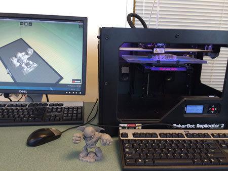 The first 3D printer pass