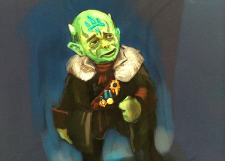 Kaos as Yoda: Use the Force, Portal Master!
