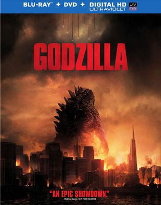 Godzilla Blu-ray cover art