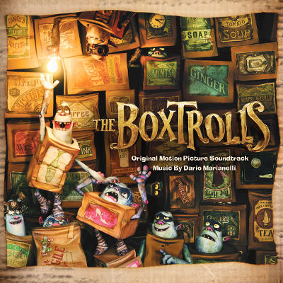 The Boxtrolls Soundtrack Album Cover