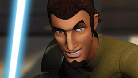 Ezra's mentor and rebel Kanan Jarrus