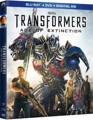 Transformers: Age of Extinction Blu-ray