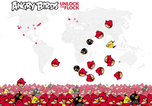 Help the Angry Birds unlock the exclusive surprise!