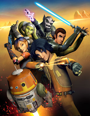 Star Wars Rebels: The poster