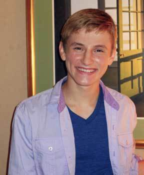 Nathan Gamble at our interview