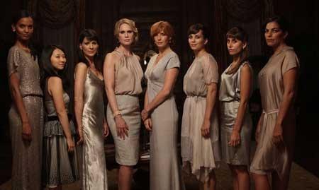 The ladies of the prep school book club