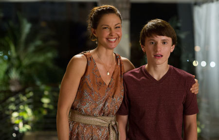 Sawyer's mom (Ashley Judd) is thrilled about the semester at sea offer