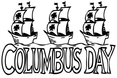 Columbus day is named in honor of Christopher Columbus
