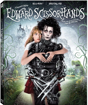 Edward Scissorhands 25th Anniversary Blu-ray is now available
