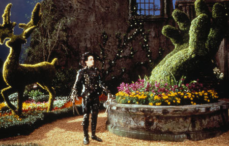 Edward alone in his gardens