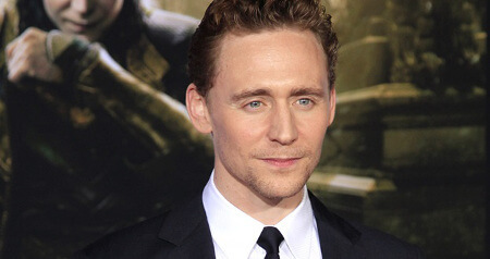 Tom Hiddleston is from London, England