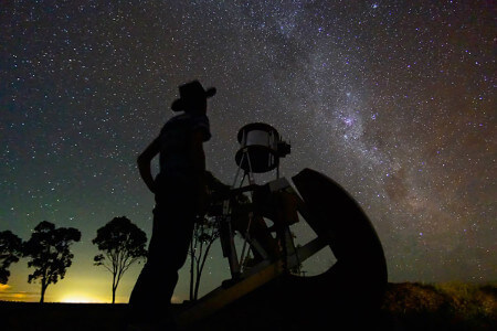 Astronomy can mean the study of stars, planets, galaxies and more