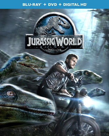 Jurassic World is now available on Blu-ray