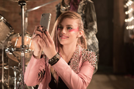 Jem takes a selfie