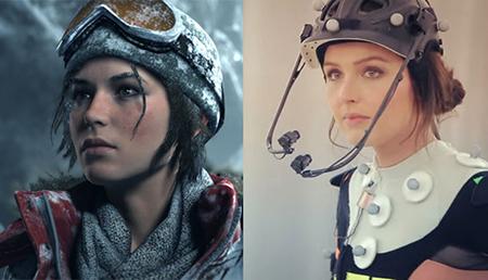 Actress Camilla Luddington plays Lara Croft in Rise Of The Tomb Raider.