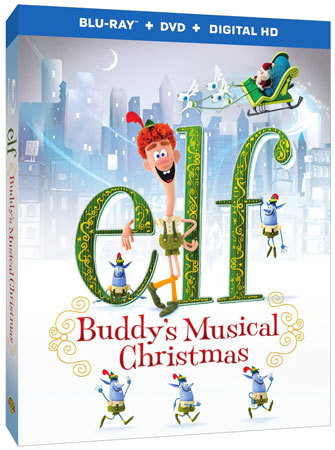 Elf: Buddy's Musical Christmas Blu-ray Cover