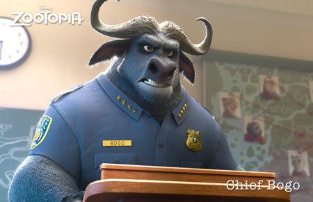 Zootopia Character Chief Bogo