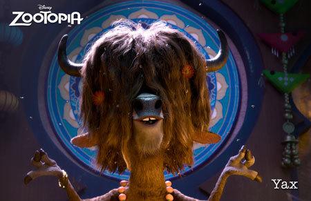 Zootopia Character Yax