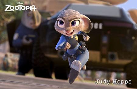 Zootopia Character Judy Hopps
