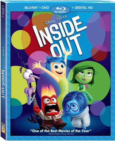 Inside Out Blu-ray Cover