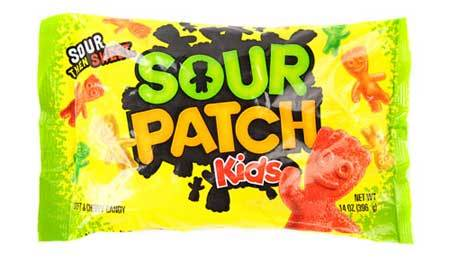 Sour Patch Kids are a tart treat